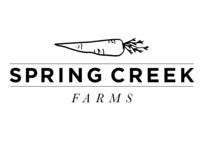 logo for spring creek farms
