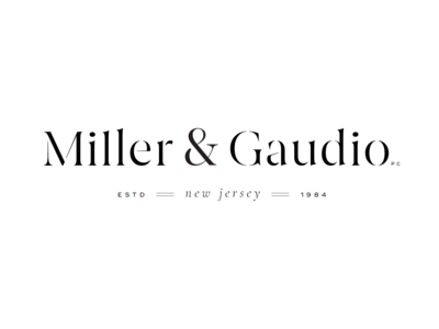 Miller & Gaudio Branding Design