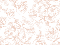 vintage floral pattern for a moody photographer