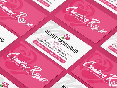 Creative Rose Brand Identity & Deliverables brand identity designer branding design branding elegant rose pink floral feminine businesscard businesscarddesign brandidentitydesign logodesign logo
