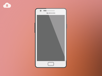 Freebie - Samsung Galaxy S II Mockup