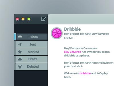 Mailapp mail app interface debut thanks