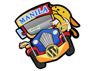 Jeepney Wapuu (WCMNL 2017) manong wapuu jeepney wapuu wordcamp manila mascot philippines manila wapuu wcmnl2017 wcmnl wordcamp wordpress