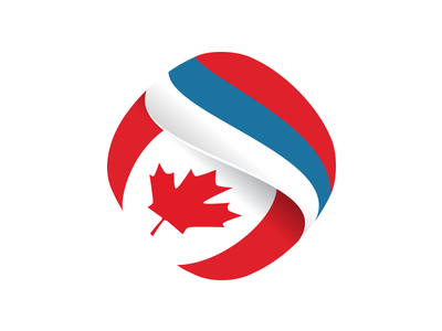 Cansee logo association serbia canada business flag