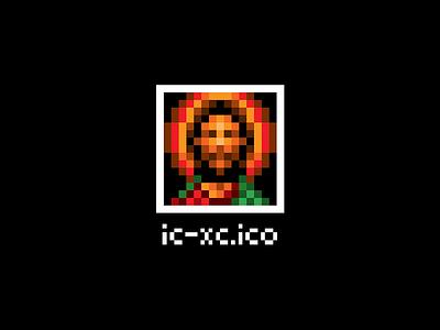 Ortodox Icon Icon religious pixel art pixelated icon