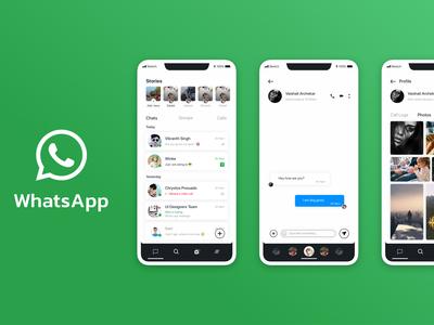 Whats app re-design concept