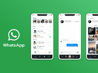 Whats app re-design concept