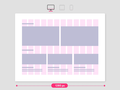 Grid Systems design fluid layout grid layout ui tablet mobile web web responsive layout grid