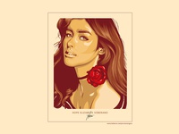 Vector Portrait of Liza Soberano