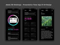App Presentation Timer - UI UX Design