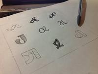 Personal Logo Concept Sketches