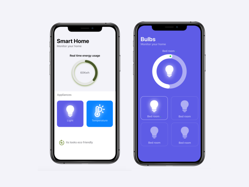 Smart Home - App concept