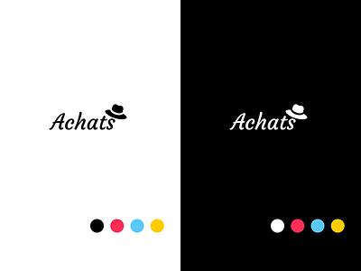 Achats - Branding flat logo brand design uxdesign toronto canada ux ui minimal design