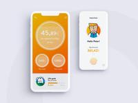 Online banking UI