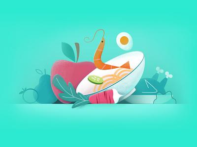 Healthy diet 插图 food