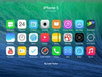 Ios7 icon set redesign