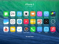 Ios7 Icon Set Redesign Concepts