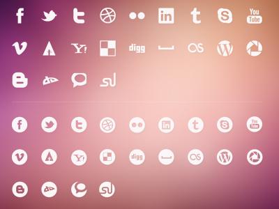 Luketctaylor Social Icons Kit icons vector social media eps free freebies set ui ux logos buttons