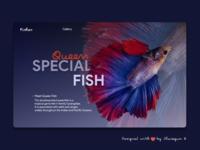 Fish Landing Page