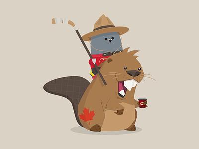 Canada Day Ami holiday ami customer.io canada vector mascot cute