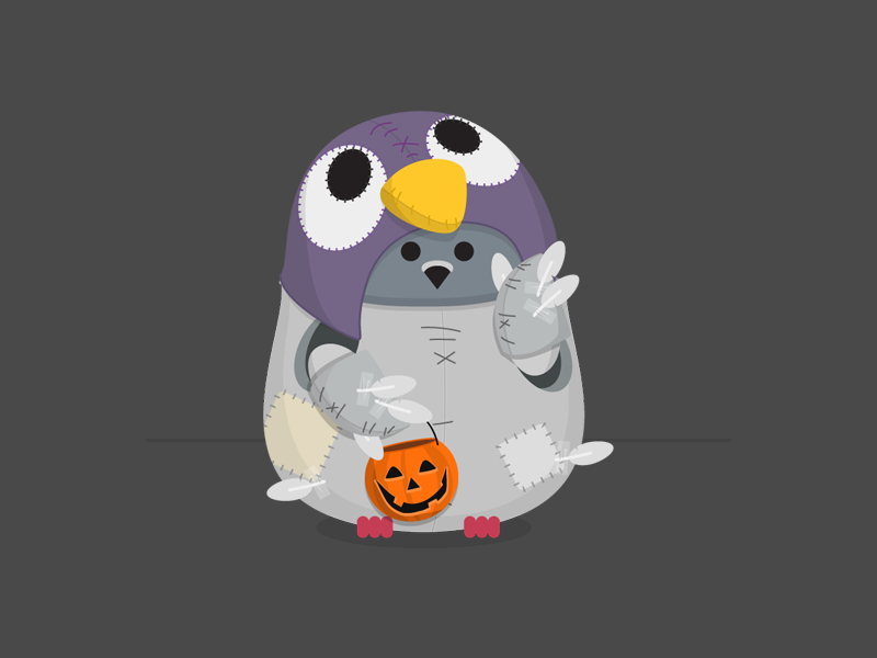 Halloween Ami costume pigeon cute mascot customerio ami halloween