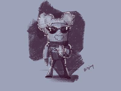 Mugatu sketch doodle zoolander mugatu