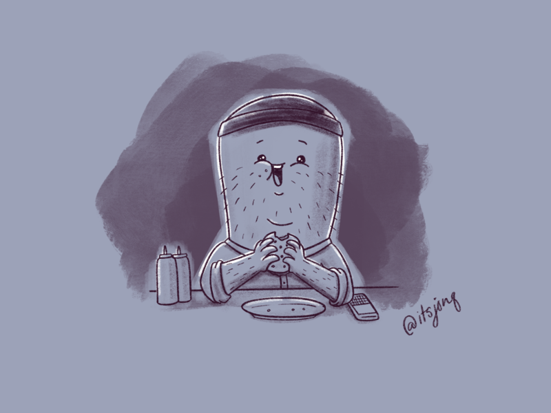 Teddy 🍟🍔 teddy sketch doodle burgers bobs