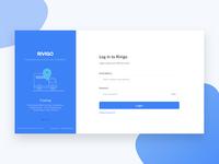 Login form | Logistics (Rivigo)