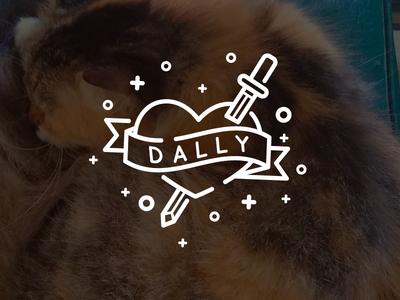 Dally queen purr kitten cute cat dally