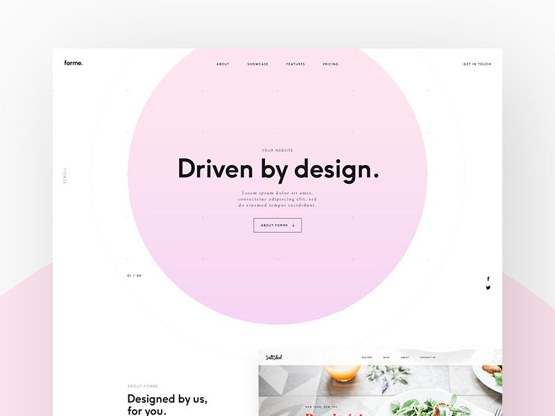 Forme - Landing Page
