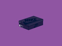 Nike Air Command Force Box Icon