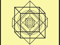 Geometric vector design: Big Bang Event