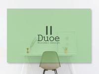 Duoe: conceptual logo design
