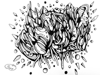 Automatic drawing experiment 14