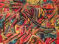 Tesserakt v1 - expressionist exploration 4