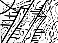 Untitled abstract line drawing