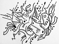 Untitled abstract work