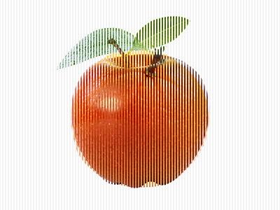 Lenticular Test 1 lenticular apple orange