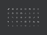 12px Icons WIP