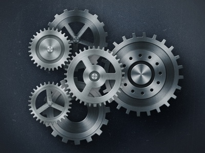 Grinding Gears gears photoshop illustration