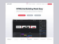 Adcade Site Redesign