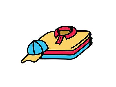Second Hand Shop Logo Design graphic design colorful branding vector logo design photoshop illustration
