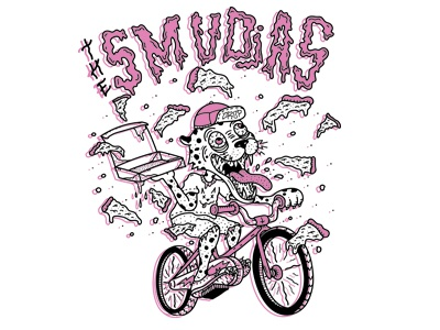 T-shirt Design for The Smudjas