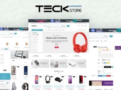 Teckstore - Electronics Store Prestashop Theme for Affiliates