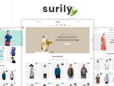 Surily - Fashion eCommerce Prestashop 1.7 & 1.6 Responsive Theme