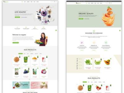 Ecoganic - An Organic Food Store Prestashop Theme