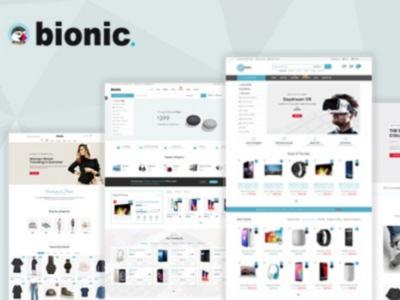Bionic - Multi-Purpose Store Responsive Prestashop Theme