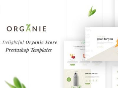 Organie - A Delightful Organic Store eCommerce Prestashop Theme