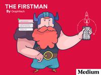 Nordic/ The Firstman- Medium