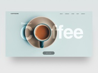 Minimalist Interface with Coffee theme ☕️